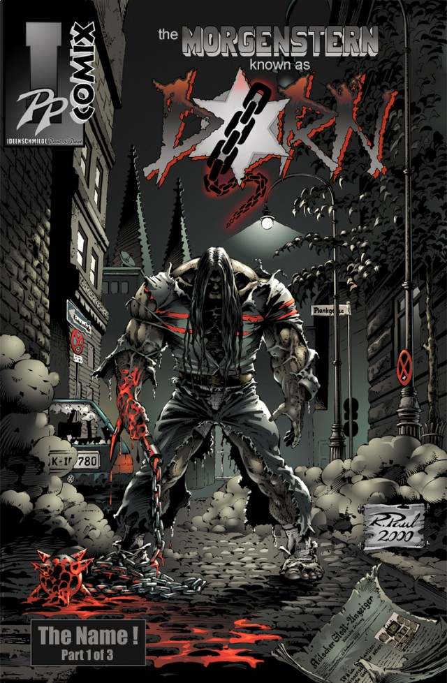 Dorn Issue 1 Cover
